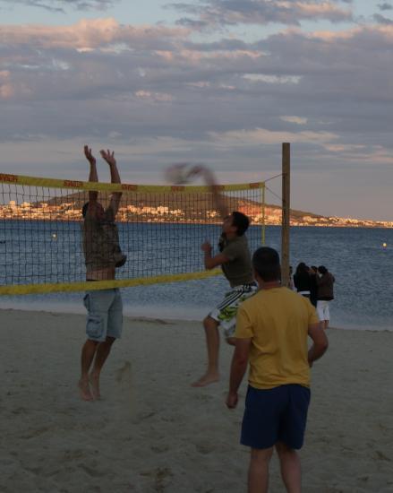 ...sur le sable...