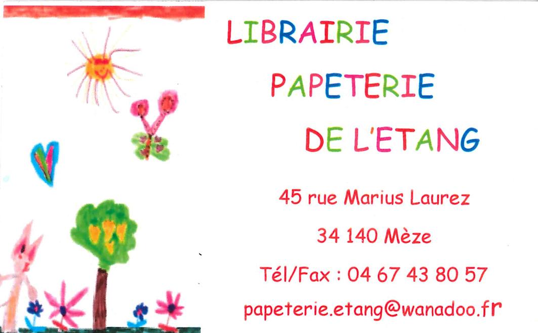 Librairie de l'Etang