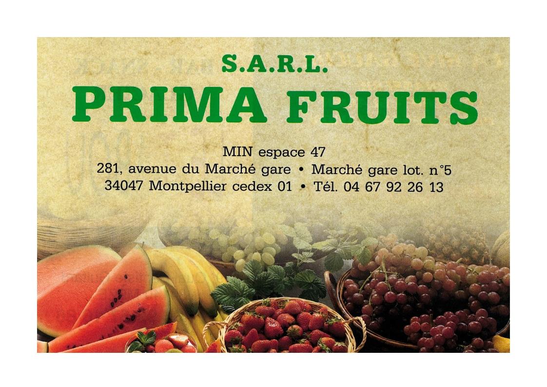 Prima fruits